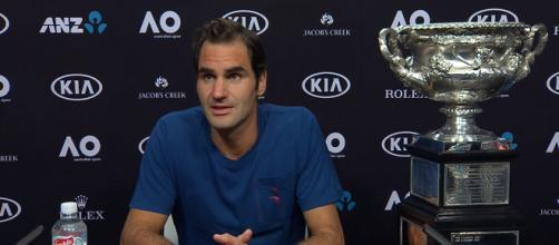 Roger Federer won the 2017 Australian Open/ Photo: screenshot via Australian Open TV channel on YouTube
