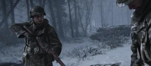 'Call of Duty: WWII' image. - [Call of Duty / YouTube screencap]