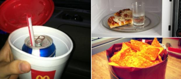 Did you know that there are life hacks that can make eating easier? Image Credit: Blasting News