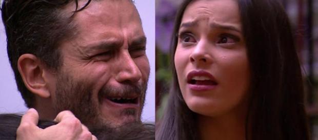 Ele afirmou que vai encontrá-la fora do programa (Foto: Reprodução/TV Globo)