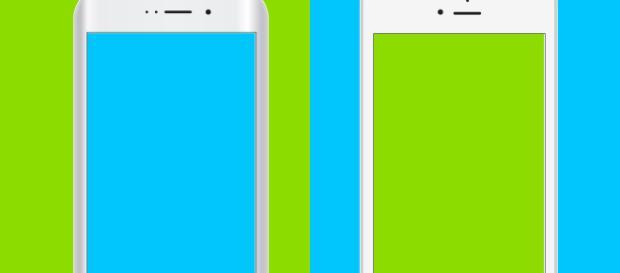 Free vector mockups of iOS and Android - Fauno via Pixabay