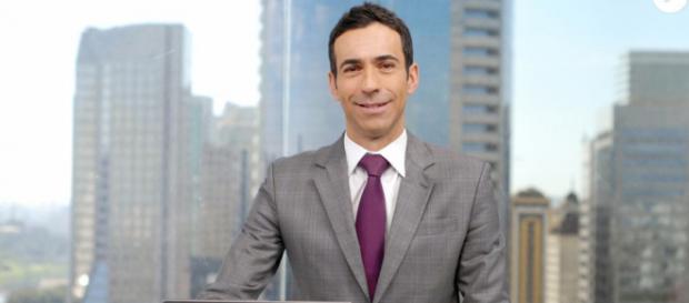 Jornalista da Rede Globo, César Tralli
