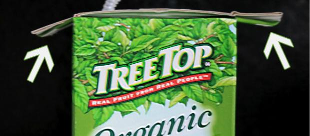 Juice box flaps. Image Credit: Blasting News