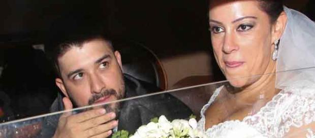 Silvia Abravanel e Edu Pedroso (Foto: Reprodução)