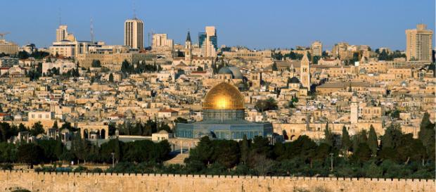 Una veduta di Gerusalemme dal Monte degli Ulivi