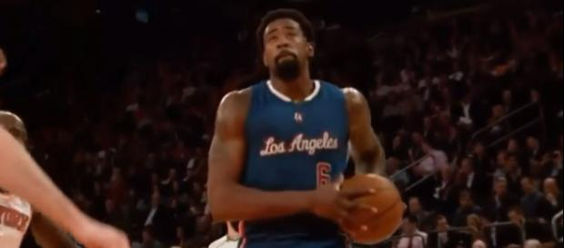 Will the Los Angeles Clippers trade DeAndre Jordan? - [Image Credit: Exclusive News Insider/YouTube screencap)]