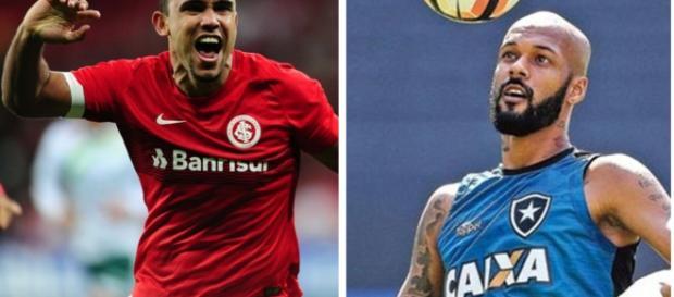 William Pottker e Bruno Silva: jogadores
