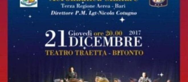 Bitonto (Bari): concerto di Natale del 21 dicembre 2017