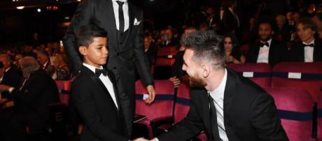 """hijo de Cristiano dedica una imagen a su """"ídolo"""" Messi en Instagram - lavanguardia.com"""