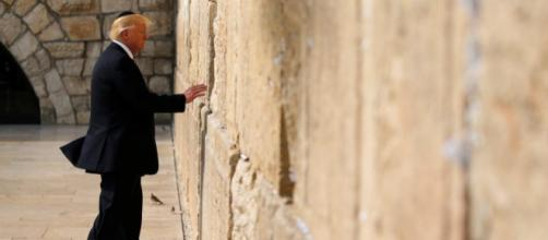 Jérusalem: une visite tout en symboles pour Donald Trump - Moyen ... - rfi.fr
