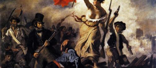 La libertà che guida il popolo Delacroix