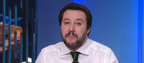 Matteo Salvini ospite da Lilli Gruber