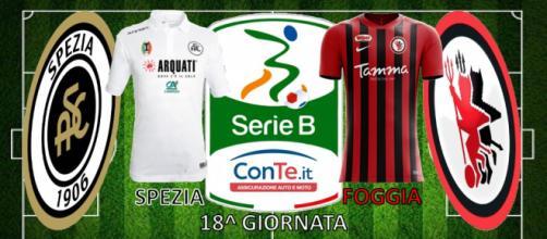 """Spezia e Foggia si sfideranno questa sera allo stadio """"Picco"""" nella 18^ giornata del campionato di Serie B ConTe.it"""