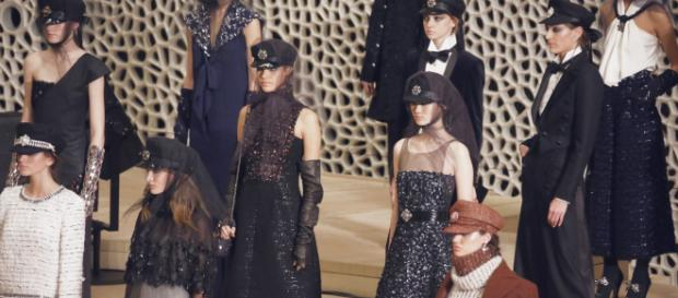 Chanel in Hamburg Collection. Chanel Prefall 2018