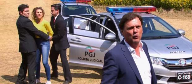 Fernanda é presa e Pedro se desespera
