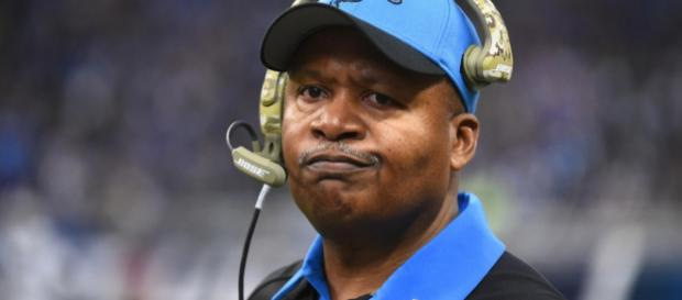 Is Jim Caldwell on the hot seat in Detroit? [Image Credit: USA Today Sports/YouTube screencap]