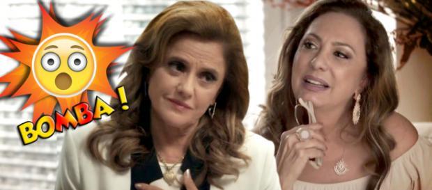 Sophia e Nádia têm muitas coisas em comum (Montagem/Telma Myrbach)