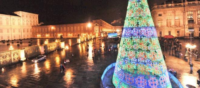 La città della mole si veste a festa per Natale