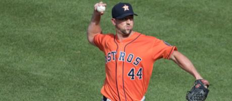 Luke Gregerson is joining the Cardinals on a two-year deal. - [Image Source: Flickr   Keith Allison]