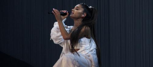Ariana Grande performs. - [Image Credit: Emma / Wikimedia]