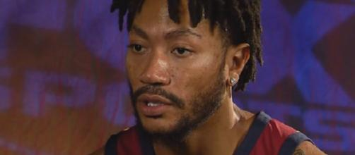 Derrick Rose is averaging 14.3 points and 2.6 rebounds per outing this season (Image Credit: FOX Sports Ohio/YouTube)