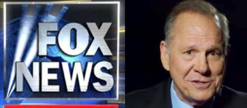 Fox News, Roy Moore, via Twitter