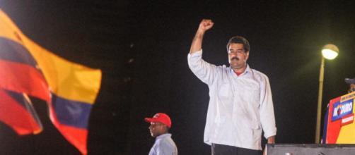 Nicolás Maduro en su victoria electoral del 2013, Joka Madruga