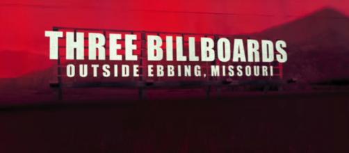 'Three Billboards Outside Ebbing, Missouri' -- FoxSearchlight via YouTube