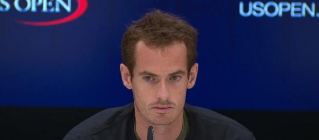 Andy Murray during a press conference before the 2017 US Open. -[Image: screenshot via US Open Tennis Championships channel on YouTube]