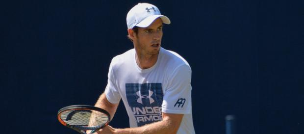 Andy Murray preparing to hit a shot. Image Credit: Carine06, Flickr -- CC BY-SA 2.0)
