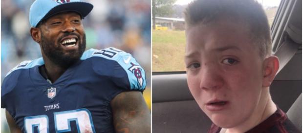 Les réseaux sociaux se mobilisent pour soutenir Keaton Jones, enfant victime de harcèlement scolaire. @forthewin