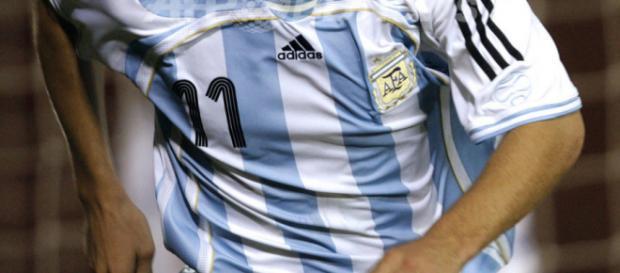 O atacante já serviu a seleção argentina
