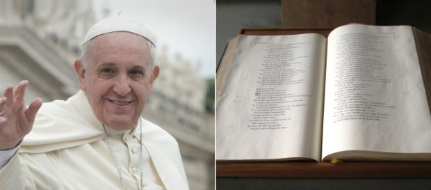 Pope Francis proposes to change the translation of one part of the Bible. Image Credit: Blasting News