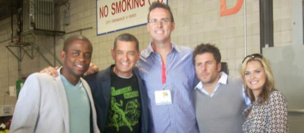 Psych cast backstage at 2009 San Diego Comic Con. - [Image via Flicker | Kristin Dos Santos]
