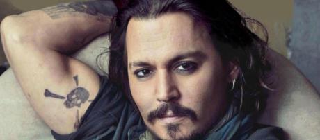 Johnny Depp relaxing. - [Image provide via Flickr (Credit: Celebrityabc)]