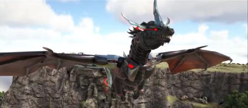 A Prome Nidhogg in 'ARK:Survival Evolved.' - [YouTube screencap / KingDaddyDMAC]