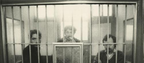 Andreu Solsona, Arnau Vilardebò y Gabi Renom, encarcelados en 1977 en la Cárcel Modelo de Barcelona