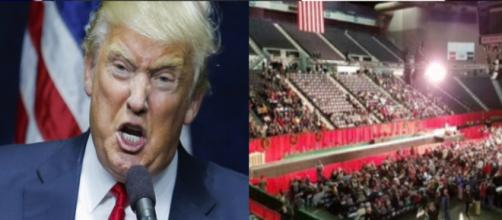Donald Trump, rally picture, via Twitter
