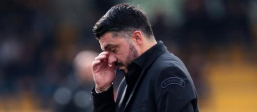 La disperazione del tecnico dopo il 2-2 di Benevento