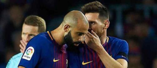Leo Messi é muito amigo de Mascherano
