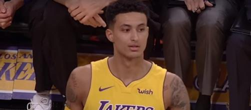 The Lakers might give up Kyle Kuzma for the opportunity to add LeBron James next year. -- [BBALLBREAKDOWN / YouTube screencap]