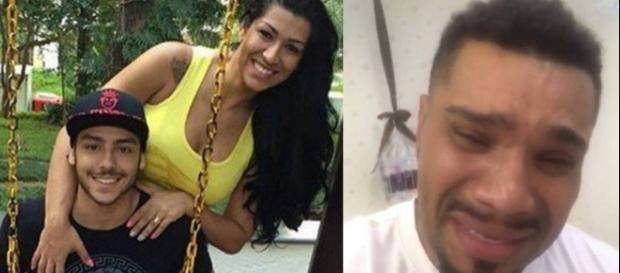 Filho de Ellen Cardoso sai em defesa da mãe em rede social após problema familiar com Naldo.
