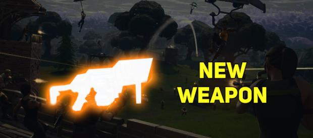 """Fortnite"" Battle Royale is getting a new weapon! Image Credit: Own work"