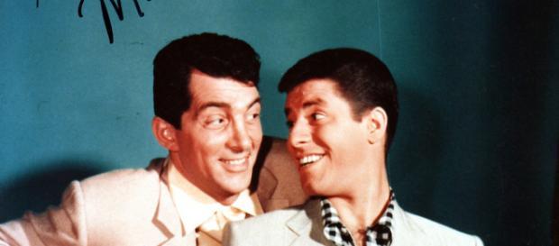 Jerry Lewis und Dean Martin in jungen Jahren