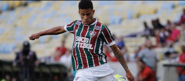 Mascarenhas é emprestado ao Botafogo-SP e só volta para o Flu depois do Campeonato Paulista (Foto: Lancenet)