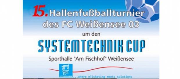 Um 16 Uhr steigt am 27. Dezember der große Hallenfußballtag im Landkreis Sömmerda mit dem Turnier in Weißensee. Bild: Verein