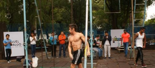 Competidor, Street-Workout segundo lugar