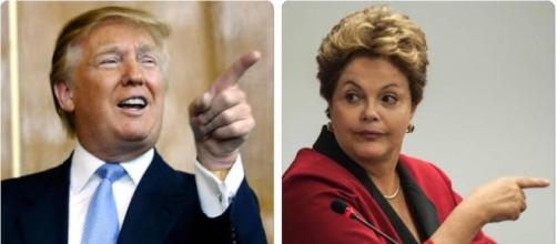 Dilma Roussef opina sobre Trump no poder.