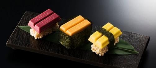 Il nuovo Kit Kat sushi della Nestlè (foto: www.fortune.com)