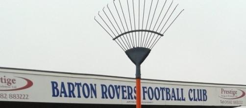 Il rastrello acquistato dal Barton Rovers FC per 8 euro